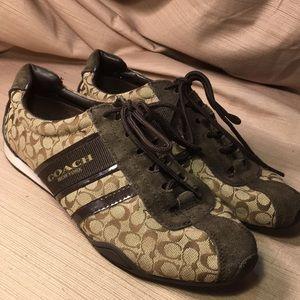 Coach lace up shoes